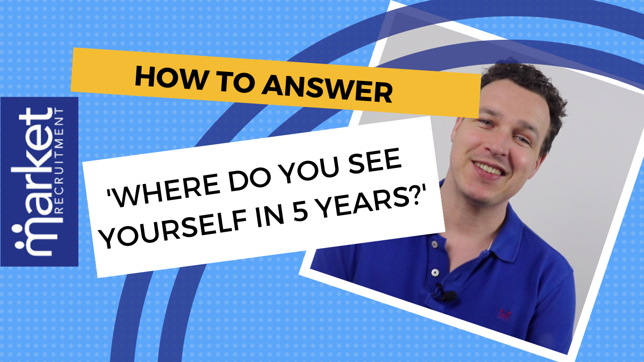Where do you see yourself in 5 years interview question advice