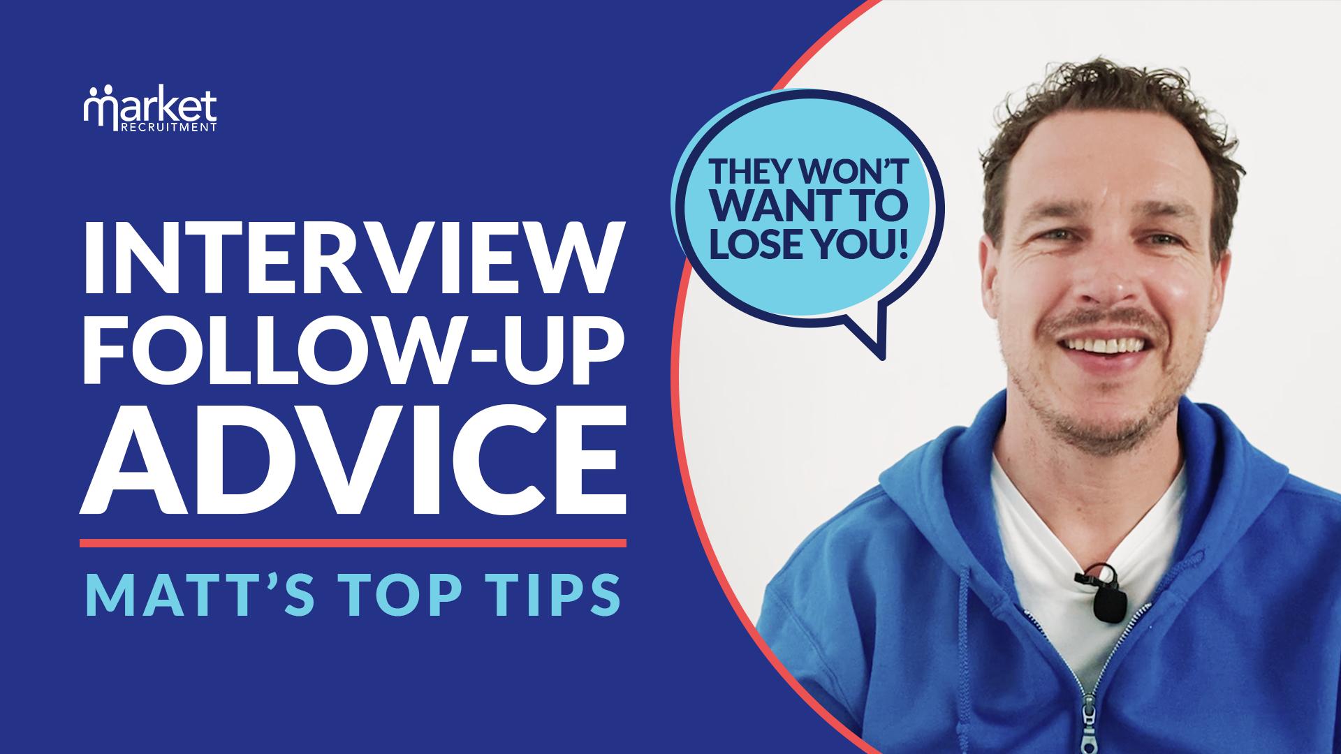 interview follow up advice